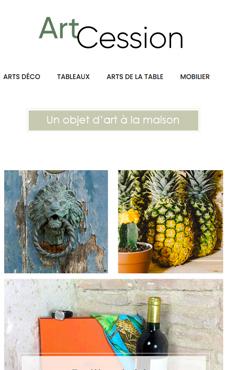 artcession site web